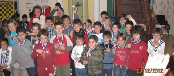 Πρωτάθλημα σκακιού παίδων από τον Σκακιστικό Όμιλο Ρόδου